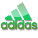 Adidas, green Black icon