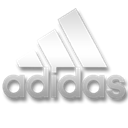 White, Adidas Black icon
