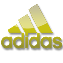 Adidas, yellow Black icon