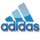 Blue, Adidas Black icon
