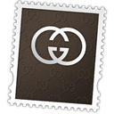 Logo, gucci, Stamp, postage DarkSlateGray icon