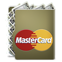 Credit card, master card Gray icon