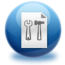 Configure, config, File, paper, configuration, preference, Setting, option, document SteelBlue icon
