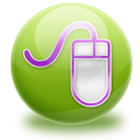 Mouse OliveDrab icon