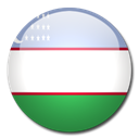 flag, Uzbekistan, Country Black icon