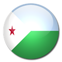 flag, Djibouti, Country SeaGreen icon