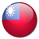 Taiwan, Country, flag Firebrick icon