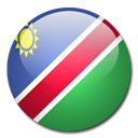 Country, flag, Namibia SeaGreen icon