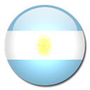 Argentina, Country, flag SkyBlue icon