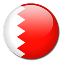 flag, Bahrain, Country Red icon