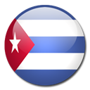 Cuba, Country, flag Black icon
