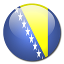 bosnia, herzegovina, And, flag, Country DarkSlateBlue icon