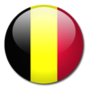 Belgium, Country, flag Black icon