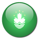 Macau, Country, flag SeaGreen icon