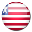 flag, Country, Liberia Black icon