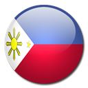 Country, flag, Philippines Black icon