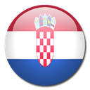 flag, Country, Croatia Black icon