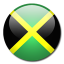 Jamaica, flag, Country Black icon