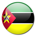 Country, Mozambique, flag Black icon