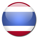 Country, flag, Thailand Black icon