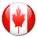 flag, Country, canada Red icon