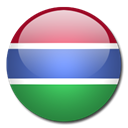 flag, Country, Gambia SeaGreen icon