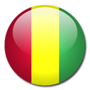 Country, guinea, flag Black icon