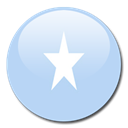 Country, flag, Somalia LightBlue icon