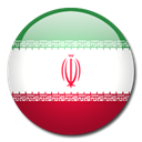 flag, Country, iran Black icon