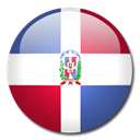 Dominican, flag, Country, republic Black icon