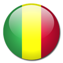 flag, Country, Mali Black icon