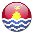 Kiribati, Country, flag Black icon