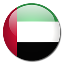 Country, emirate, united, Arab, flag Black icon