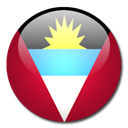 antigua, barbuda, And, Country, flag Firebrick icon
