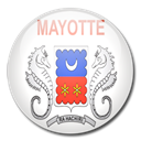 flag, mayotte, Country Black icon
