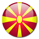 Macedonia, flag, Country Black icon