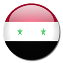 flag, Syria, Country Black icon