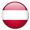 Country, Austria, flag Firebrick icon