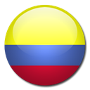 flag, Country, Colombia Khaki icon