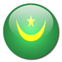 Mauritania, Country, flag SeaGreen icon