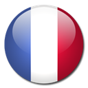 flag, Country, france Black icon