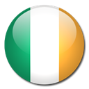 flag, Country, Ireland Black icon