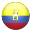 flag, Ecuador, Country Black icon