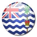 Country, territory, ocean, flag, British, indian Black icon