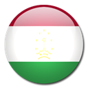 Country, Tajikistan, flag Black icon