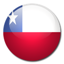 flag, Chile, Country Firebrick icon