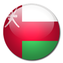 Country, Oman, flag Black icon