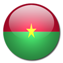 Country, Burkina, faso, flag SeaGreen icon