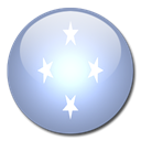 Federated, Micronesia, state, Country, flag Lavender icon