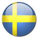 sweden, flag, Country Black icon
